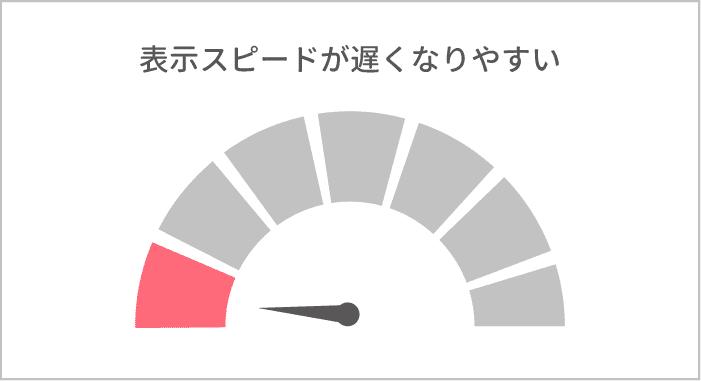 グーグルアドセンスはサイトの表示スピードが遅くなりやすい